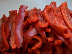 Outras Comidas: Massa de Pimentão Carrots, Bacon, Vegetables, Breakfast, Food, Diy, Spices, Red Chili, Green Bell Peppers