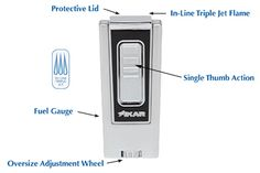 XIKAR Trezo Cigar Lighters ~ XIKAR Trezo Triple Jet Flame Cigar Lighters Are Available at Milan Tobacconists