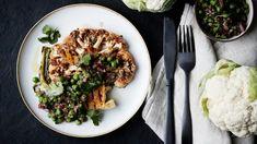 Kukkakaalipihvit ja hernesalsa Recipes, Ripped Recipes, Cooking Recipes, Medical Prescription, Recipe
