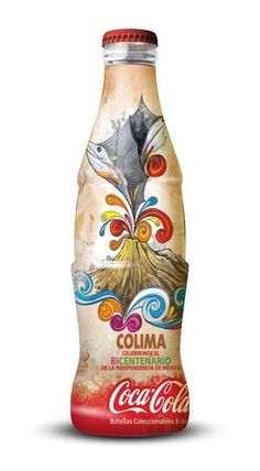 Coca-Cola Celebrates Mexico's Independence Bicentenary with New Limited-Edition Bottles Coca Cola Vintage, Coca Cola Can, Always Coca Cola, Coca Cola Bottles, Coke Ad, Pepsi, Daft Punk, Coca Cola Poster, Cocoa Cola