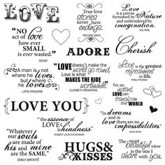 New - Fiskars Quote Clear Stamps - Lasting Love by Fiskars Arts, Crafts & Sewing Scrapbook Quotes, Scrapbook Titles, Wedding Scrapbook, Family Quotes, Love Quotes, Inspirational Quotes, Motivational, Tittle Ideas, Lasting Love
