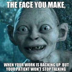 "21 Back to Work Memes - ""We must go back to work today but we hates it."" Humor 21 Funny Back to Work Memes Make That First Day Back Less Dreadful Gollum Meme, Gollum Smeagol, Funny Quotes, Funny Memes, Sarcastic Memes, Memes Humor, Humor Quotes, Funniest Memes, Teacher Humor"