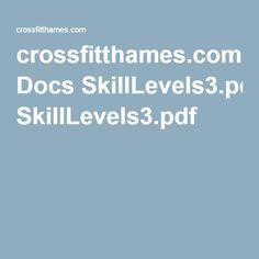 crossfitthames.com Docs SkillLevels3.pdf