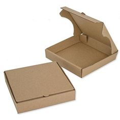 """5"""" Kraft Mini Pizza Boxes (Pack of 8) - Chica and Jo Brand - Square Cardboard #ChicaandJo"""
