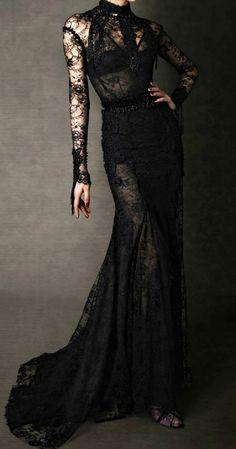 darkclothes:  awdoll:  Tom Ford F/W 2011  black clothes