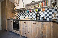 Steigerhouten Keuken Ikea : 38 beste afbeeldingen van steigerhout keukens house kitchens en