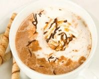 Pumpkin Spice White Hot Chocolate: A wintery alternative to your traditional hot chocolate. For the full recipe please visit: http://www.takestockmagazine.com/recipes/pumpkin-spice-white-hot-chocolate/