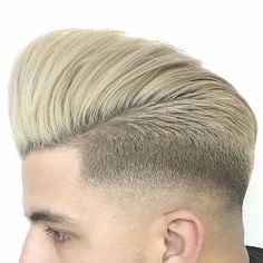 """@henlo_ #MENSHAIRWORLD #quiff #pompadour #undercut #hairstyle #mensgrooming #menslook #mensfashion #barbershop #barber #hairdresser #hairstylist #hair…"""