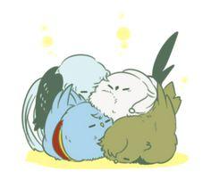 「【擬獣化】とうらぶログ12」/「青茶」の漫画 [pixiv]