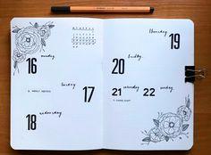 Weekly log #bulletjournaling #bulletjournal #bujo #bulletjournalweeklylog
