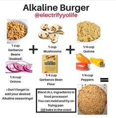 One of the most important aspects to health is proper pH balance, and there is not better diet to balance pH than the alkaline diet. Alkaline Foods Dr Sebi, Alkaline Diet Plan, Alkaline Diet Recipes, Vegan Foods, Vegan Dishes, Vegan Recipes, Cooking Recipes, Vegan Vegetarian, Dr Sebi Diet