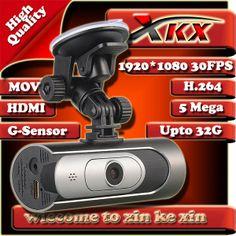 New Aluminum Case Video Surveillance 24 Hours AT600 Full HD 1080P Car Recorder DVR Camera Black Box Video Genssor HDMI H.264 $73.00 - 98.00