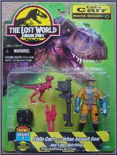 Kenner Jurassic Park: The Lost World Eddie Carr Figure 1997