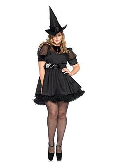 Fashion Bug Womens Plus Size Bewitching Witch www.fashionbug.us #plussize 1X 2X 3X 4X 5X 6X
