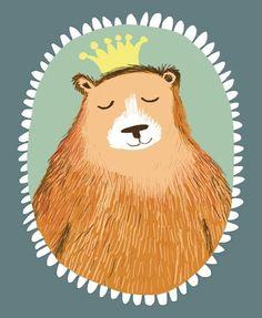 The Illustration Cupboard Posca Art, Dibujos Cute, Bear Art, Children's Book Illustration, Illustrations Posters, Design Art, Art Drawings, Poster Prints, Character Design