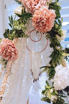 All of my bohemian dreams came true with my boho baby shower! Macrame, florals, greenery, moroccan everything, DELICIOUS food and gorgeous desserts!