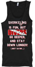 Discover Divers Go Deeper! T-Shirt from Raestlin's Dive Gear, a custom product made just for you by Teespring. With world-class production and customer support, your satisfaction is guaranteed. - My first novelty dive t-shirt. Been thinking of...