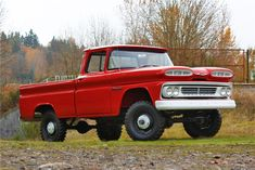 1960 CHEVROLET K10 APACHE 4X4 PICKUP - Barrett-Jackson Auction Company - World's Greatest Collector Car Auctions