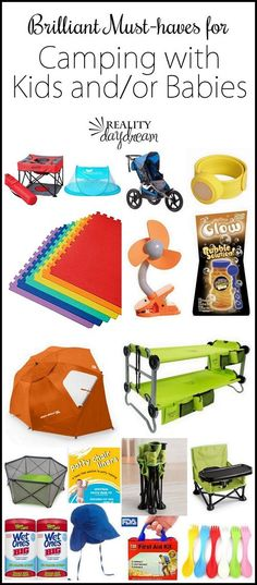 Products and Tips for Tent Camping with Babies and Toddlers