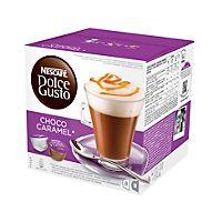 Choco Caramel on kermainen kuuma kaakaojuoma maitovaahdolla ja herkullisella kinuskilla. Caramel, Mousse, Cafetiere, Nescafe, Pint Glass, Tableware, Moment, Articles, Unique