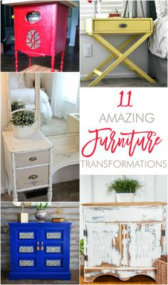 11 amazing furniture transformations painted furniture tutorials