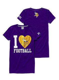 MN Vikings Tee $26.50  I Love this shirt! One of my favs
