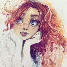 draw, drawings, and illustration image Art And Illustration, Character Illustration, Disney Drawings, Cute Drawings, Arte Inspo, Art Manga, Art Folder, Art Challenge, Portrait Art