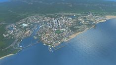 """""""Celtic City"""" - One of my Old City Builds before it got Corrupted : CitiesSkylines"""