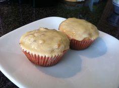 Cupcake vegan de Muesli e frutos vermelhos