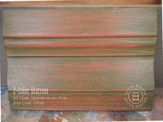 Distress with Chalk Paint®! Distressing Chalk Paint, Using Chalk Paint, Chalk Paint Colors, Chalk Paint Furniture, Annie Sloan Chalk Paint, Real Milk Paint, Pink Olive, Pink Chalk, 2 Colours