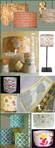 fabric lamp shades