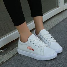 White PU sneakers. To place your orders log on to our website. Link in bio  #shopsneakpeek #shoestagram