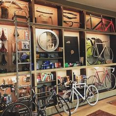 Via m @ rkol € ro: Bicycle # bike # bike # kitchen craft beer # # graz styria The post Via appeared first on Trendy. Bicycle Cafe, Bicycle Garage, Bicycle Store, Bike Shed, Velo Shop, Boutique Velo, Pimp Your Bike, Zwift Cycling, Bike Room
