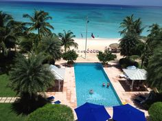 Caribbean Club has the Most Gorgeous infinity pool I have ever seen!