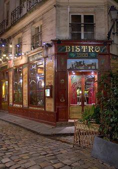 Paris, Bistro 1900
