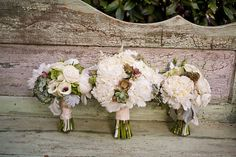 these bouquets are awesome!