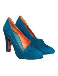 Edith & Ella, blue suede shoes!