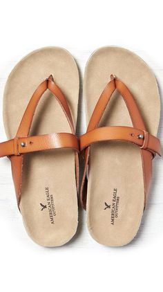 Tan AEO Cross Strap Sandal - thinking of warm weather Bobbies Shoes, Cute Shoes, Me Too Shoes, Look Fashion, Fashion Shoes, Shoe Boots, Shoe Bag, Looks Style, Crazy Shoes