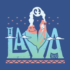 Awesome 'One+Lava' design on TeePublic!