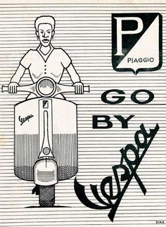 We're big fans of the Vespa scooter here at VoEA and for the sake of fairness and impartiality we also admire the svelte lines of Lambrettas too. However, here the focus is firmly on Piaggio's finest with some rare ads we've not seen before and bear in mind we've been around for a while and [&hellip