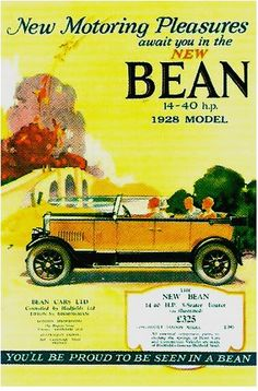 Bean car advert
