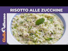 RISOTTO ALLE ZUCCHINE: Cremoso e delicato - YouTube Vegan, Menu, Pasta, Ethnic Recipes, Youtube, Food, Menu Board Design, Essen, Meals