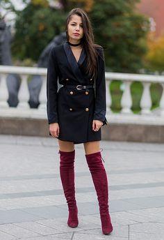 Zara All Everything :: Military Jacke & meine roten Boots ...