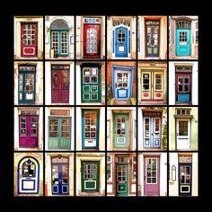 SCHNOORDOORS  24 Türen aus Bremens ältesten Viertel, dem Schnoor ... Bremen Schnoor, Germany, Europe, Doors, Travel, Nice Asses, Photo Illustration, Viajes, Deutsch