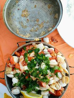 Cataplana -- a classic Portuguese dish. Click through to read the full post and get a cataplana recipe card! Lactose Free, Dairy Free Recipes, Recipe Cards, Portuguese, Preserves, Pasta Salad, Free Food, Gluten, Homemade