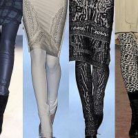 Women's Fashion Tights Trends For Fall Winter 2013-2014