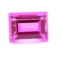 Saphir rose 1.65 carats