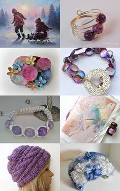 Chilly Sunset Treasures by Marcia on Etsy--Pinned with TreasuryPin.com #promotingwomen