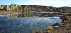 North Platte River in Winter