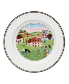 Villeroy & Boch Dinnerware, Design Naif Bread and Butter Plate Spring Morning